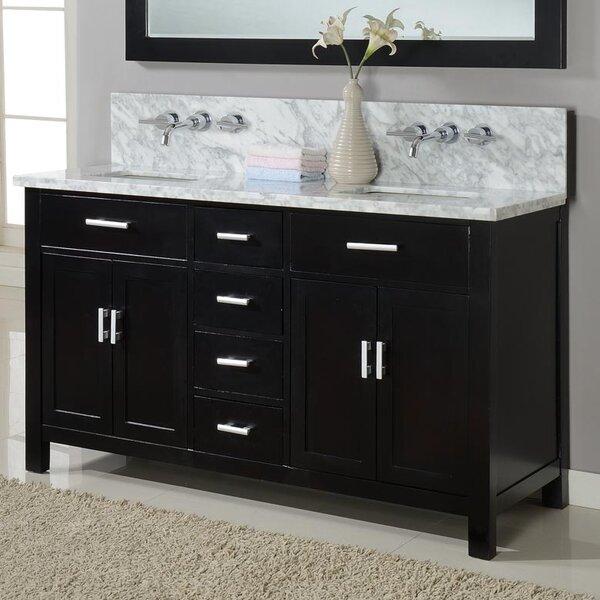 Hutton Spa 63 Double Vanity Set by J&J International LLC
