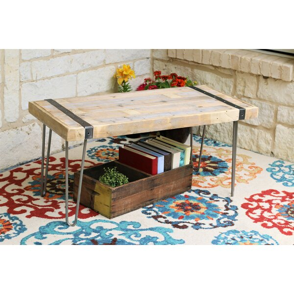 Ambrosina Coffee Table by Union Rustic