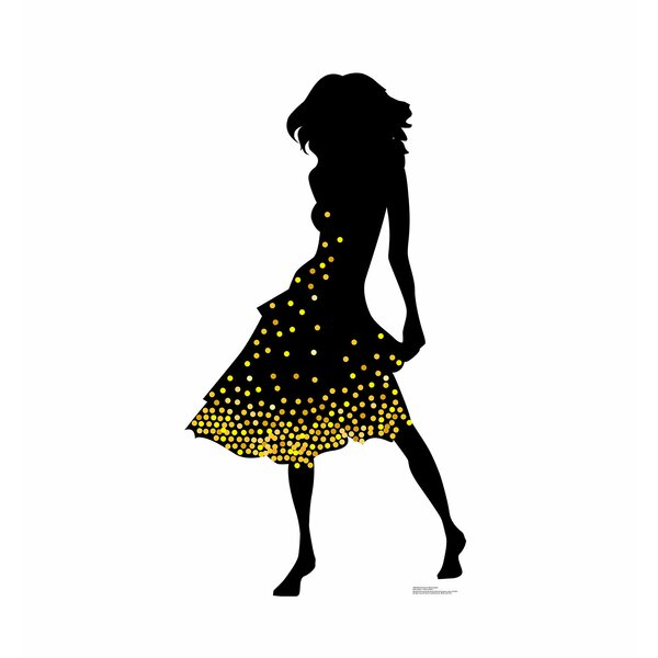 Dancer Sparkles Silhouette Standup by Advanced Graphics