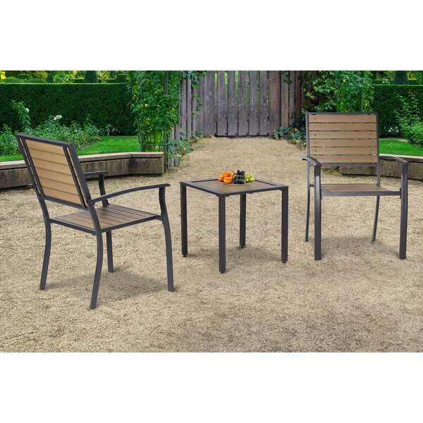 Matteo 3 Piece Seating Group by Winston Porter