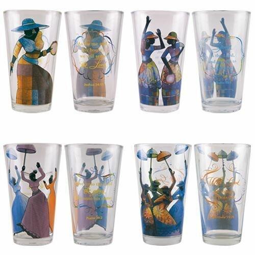 Sasser 17 oz. glass every Day Glasses by Winston Porter