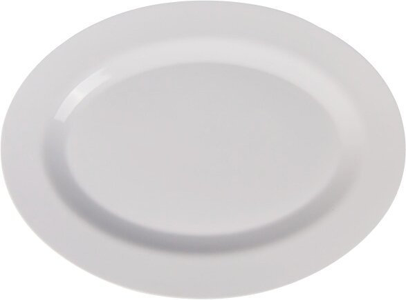Oval Melamine Platter by Gourmet Chef