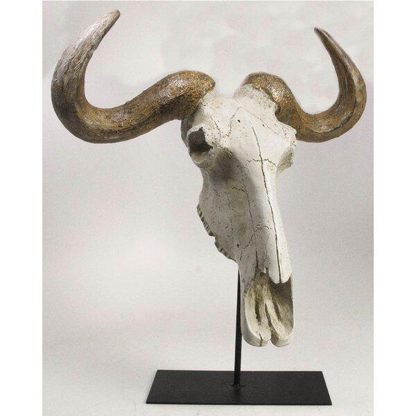 Rawles Buffalo Skull Bust by Union Rustic