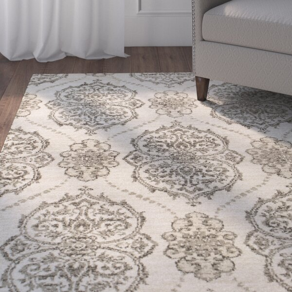 Coeymans Ivory/Beige Area Rug by Charlton Home