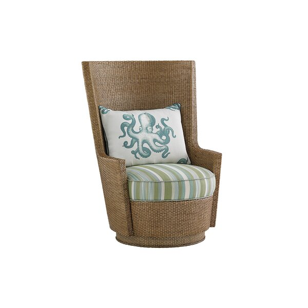 Twin Palms Swivel Armchair