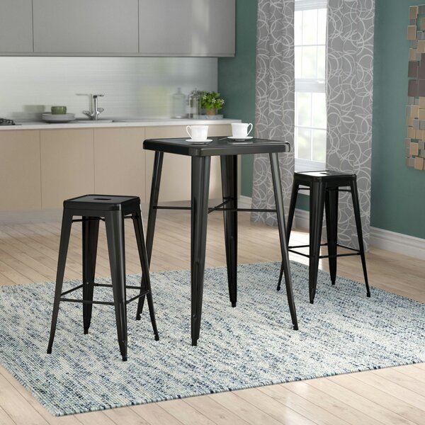 Athens 3 Piece Bar Table Set by Zipcode Design