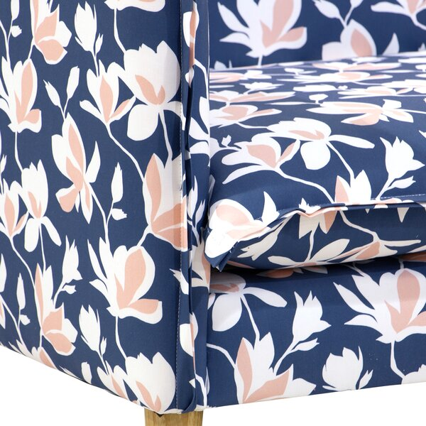 Online Order Lentz French Seam Settee by Bungalow Rose by Bungalow Rose