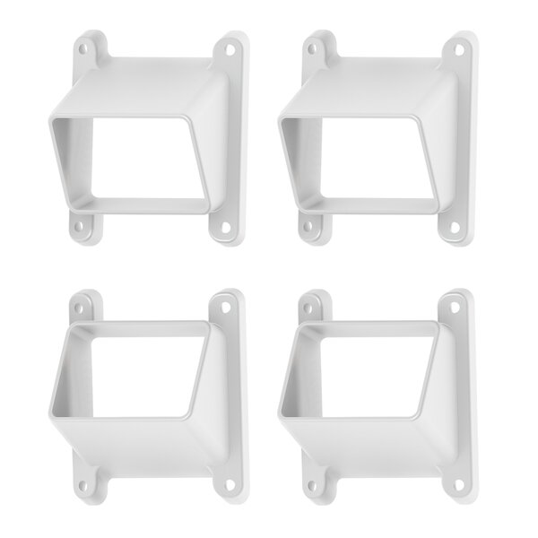 Stair Bracket (Set of 4) by Xpanse Select Vinyl Railing