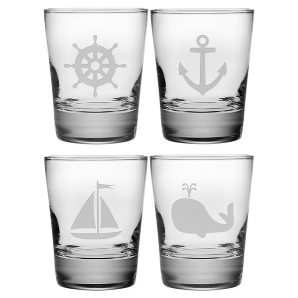 Nautical Icons Double 13.25 oz. Old Fashioned Glass by Susquehanna Glass