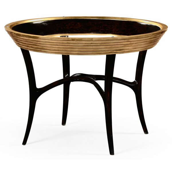 Luxe Stepped Gilded Dining Table By Jonathan Charles Fine Furniture