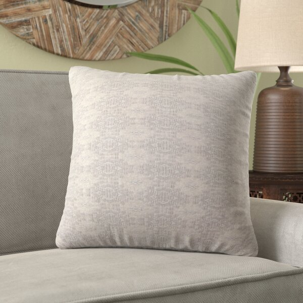 Glantz Modern Jacquard Throw Pillow by Bungalow Rose