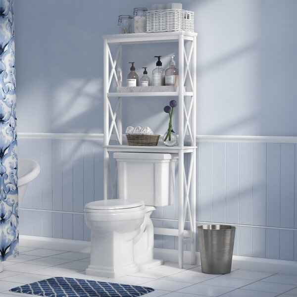Nellis 25.98 W x 63.78 H Over the Toilet Storage by Beachcrest Home