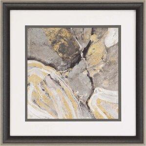 Phoenix Neutral by Albena Framed Painting Print