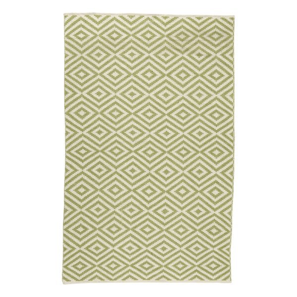 Aletha Hand-Woven Green Area Rug by August Grove