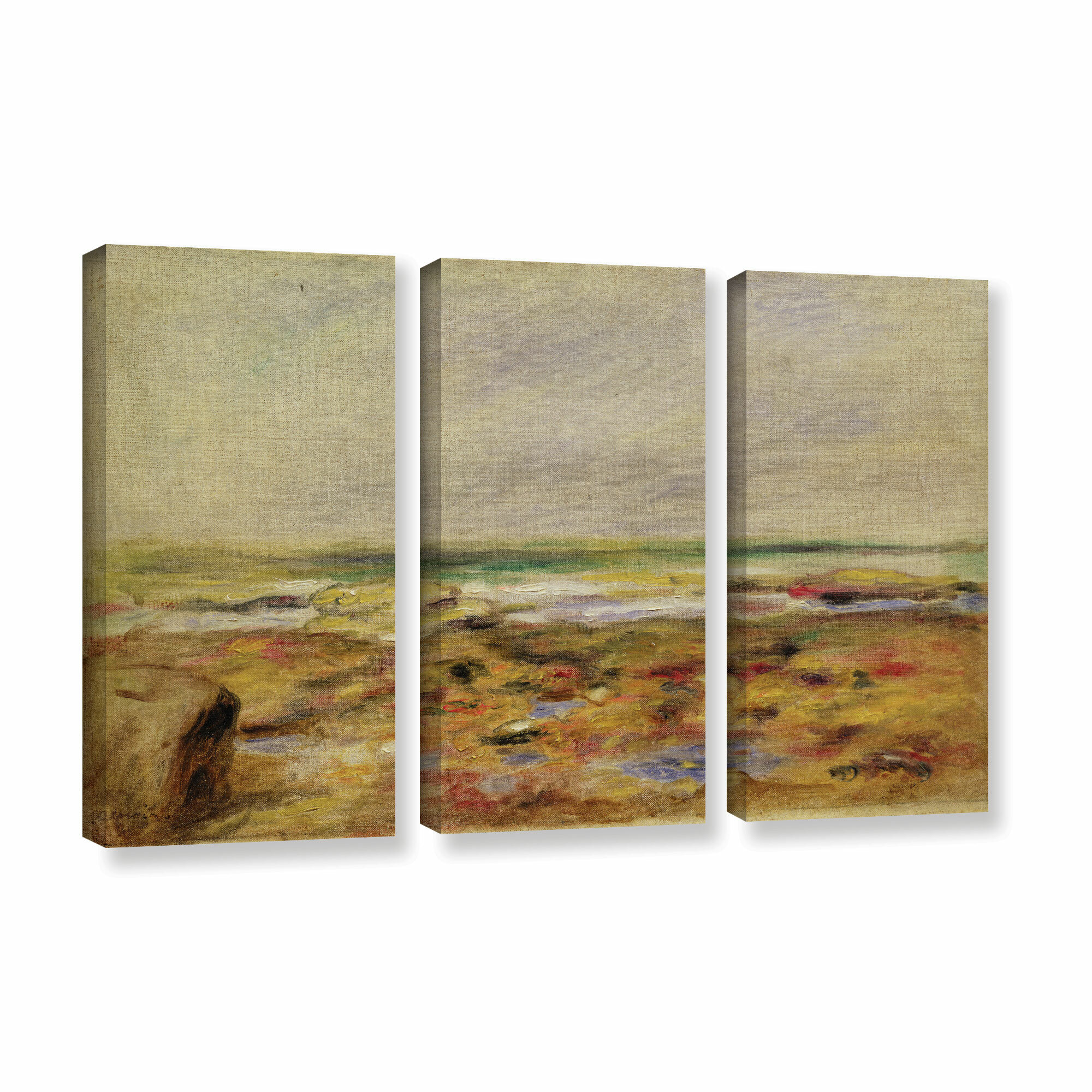 Charlton home 39the beach at martigues 188839 by pierre for Best brand of paint for kitchen cabinets with iron man wall art