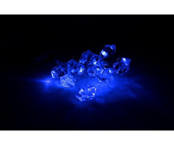 LED Ice Cube Battery Operated String Lights by The Holiday Aisle