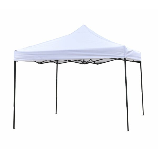 10 Ft. W x 10 Ft. D Steel Pop-Up Canopy by Trademark Innovations