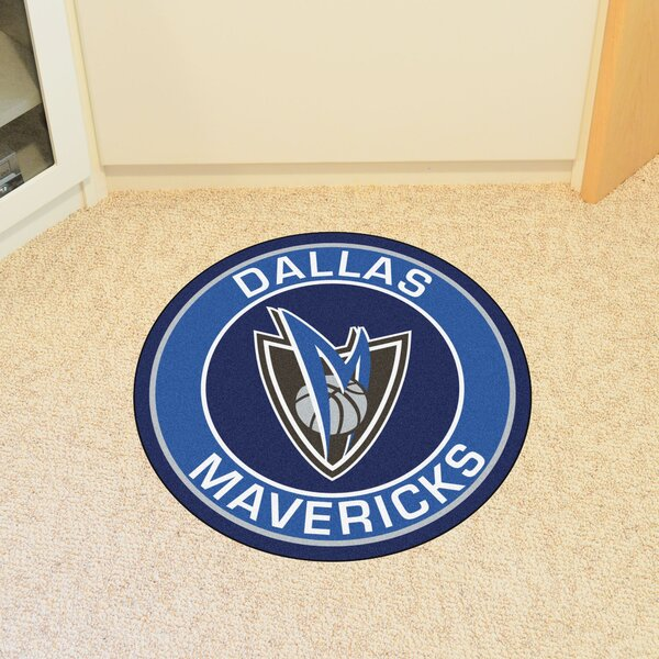 NBA Dallas Mavericks Roundel Mat by FANMATS