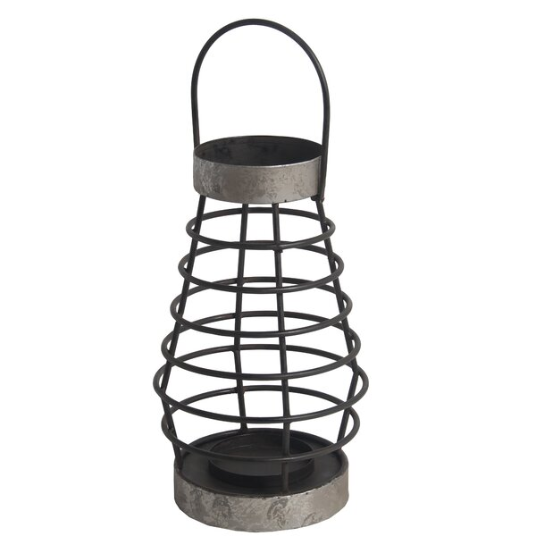 American Traditional Metal Lantern by Williston Forge