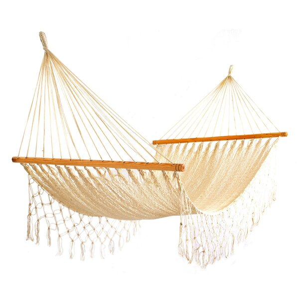 Abdulrahman Ropes Single Camping Hammock by Bungalow Rose
