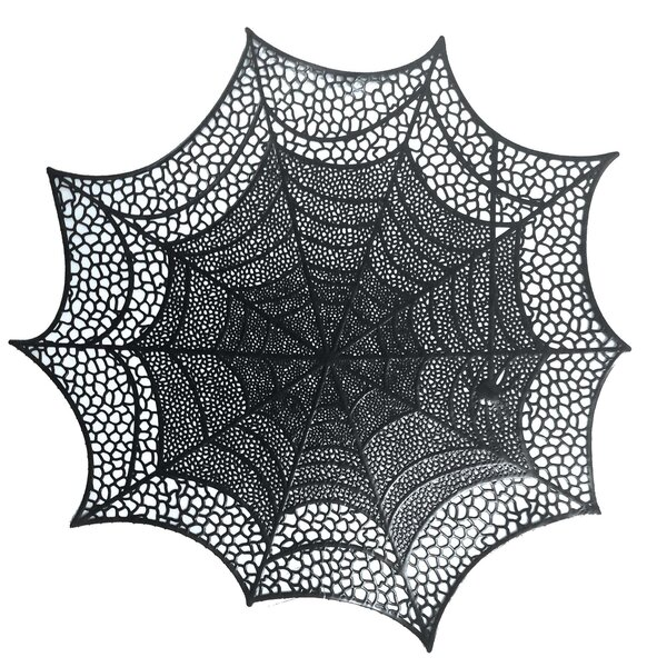 Halloween Spider Web 18.5 Placemat (Set of 2) by Amscan