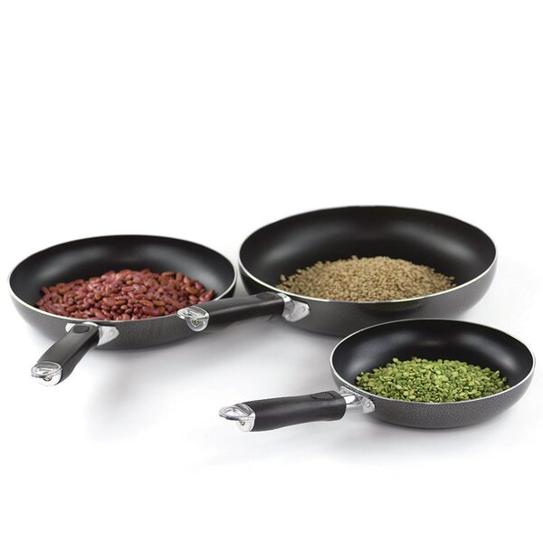 3-Piece Non-Stick Frying Pan Set by Imperial Home