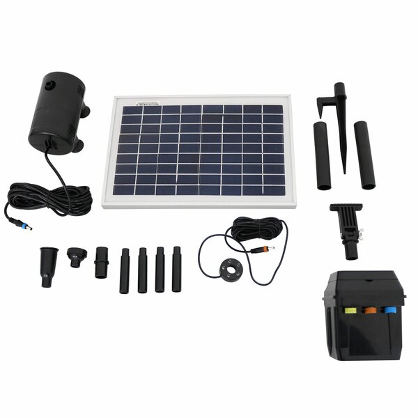 Fouke Solar Pump and Panel by Freeport Park