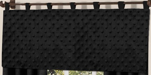 Minky Dot 54 Curtain Valance by Sweet Jojo Designs