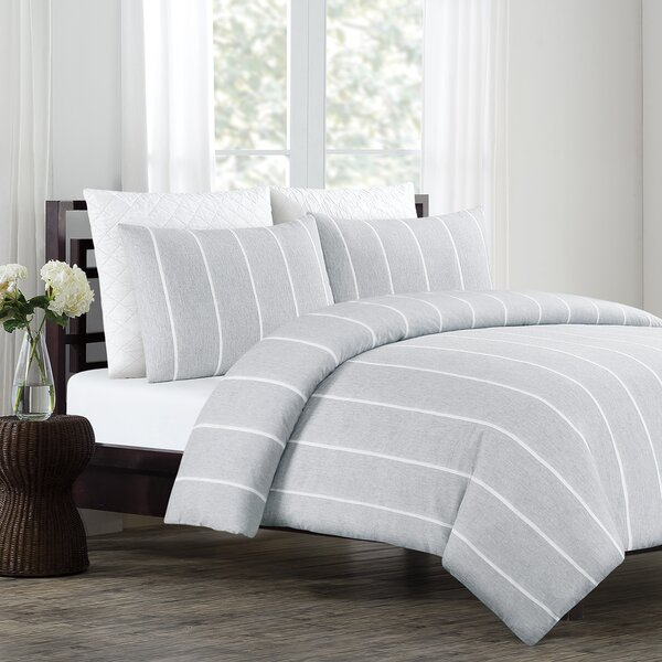 Whigham Cotton 3 Piece Duvet Cover Set by Greyleigh