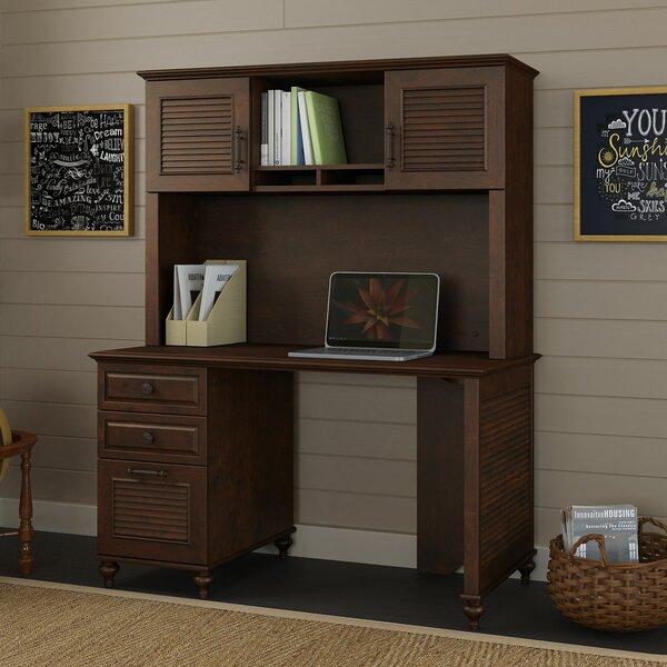 Volcano Dusk 4 Piece Desk Office Suite by Kathy Ireland Office by Bush
