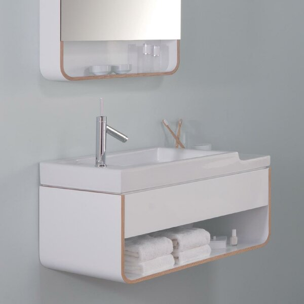 Unity Wall Hung 32 Wall-Mounted Single Bathroom Vanity by Ronbow