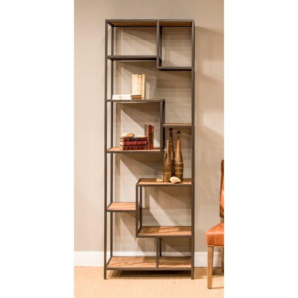 John Geometric Bookcase By Sarreid Ltd