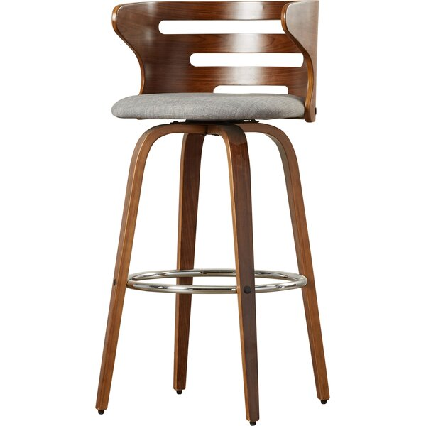 Baehr 29 Swivel Bar Stool by Wade Logan