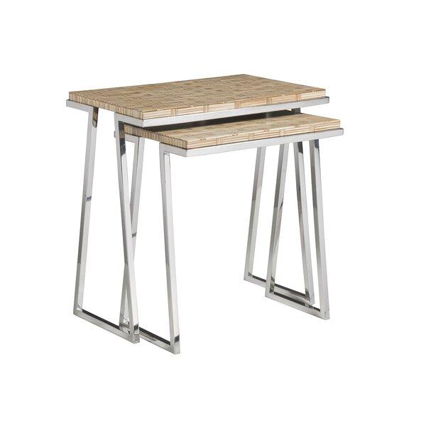 Review Signature Designs 2 Piece Nesting Tables