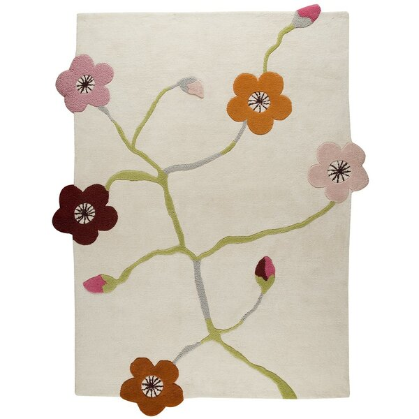 Yuette Hand-Tufted Area Rug by Hokku Designs