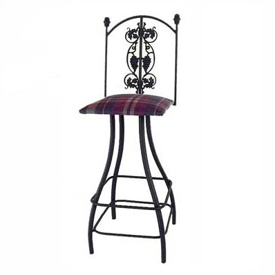 Grapes 30 Swivel Bar Stool by Grace Collection