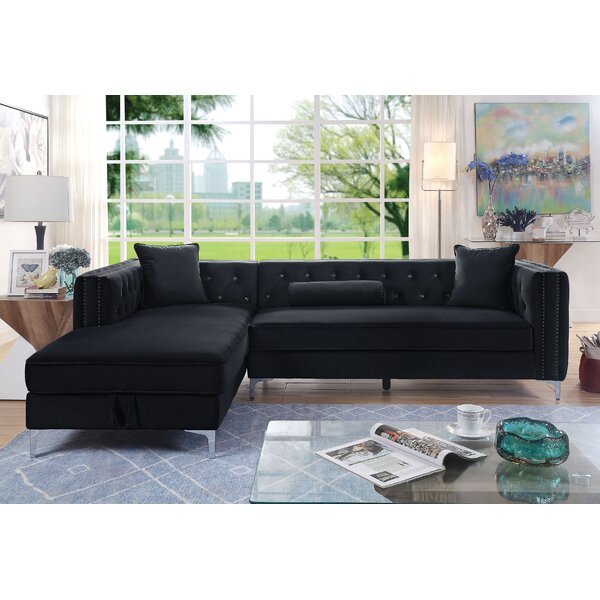 Ahearn Left Hand Facing Modular Sectional By Mercer41