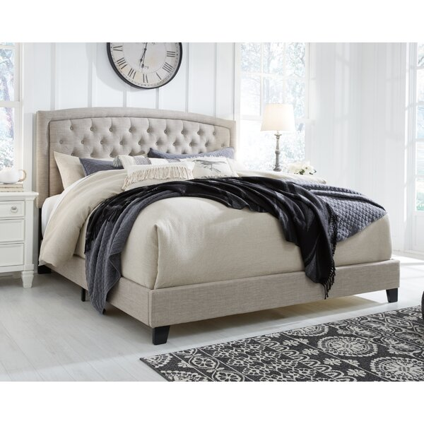 Macclesfield Queen Upholstered Standard Bed by Rosdorf Park