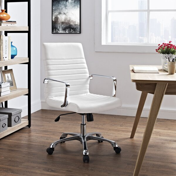 Callender Mid-Back Desk Chair by Wade Logan