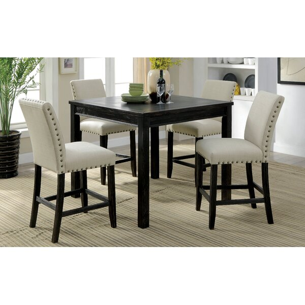 Stuckey Rustic Counter Height Dining Set by Red Barrel Studio
