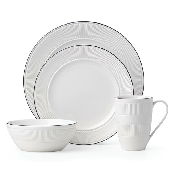 York Avenue 4 Piece Place Setting by kate spade new york