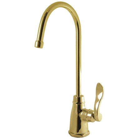 NuWave French Single Handle Kitchen Faucet by Kingston Brass