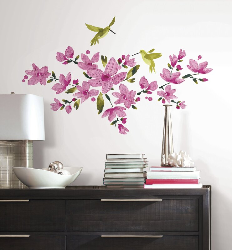 Deco Flowering Vine Wall Decal