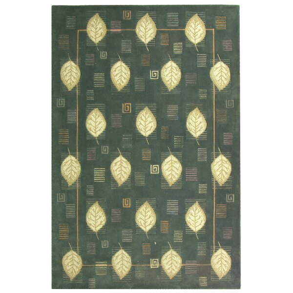 Berkeley Blue Leaves Area Rug by Safavieh