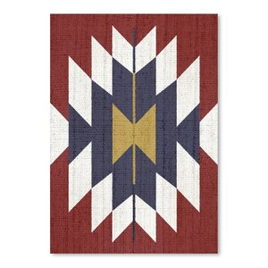 Geometric Tribal Print Poster Graphic Art by Bungalow Rose