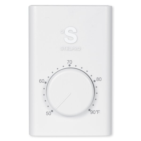 StelPro Single-Pole Non-Programmable Thermostat By StelPro