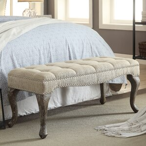 Elya Upholstered Bench by Lark Manor