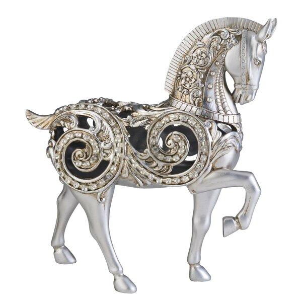 Dazzle Horse Statue by Sintechno