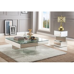 Xidias 2 Piece Coffee Table Set Orren Ellis