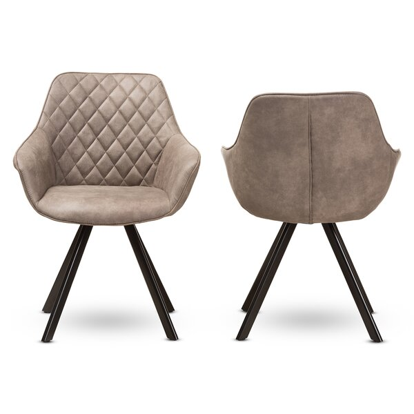 Souder Upholstered Dining Chair (Set of 2) by Wrought Studio